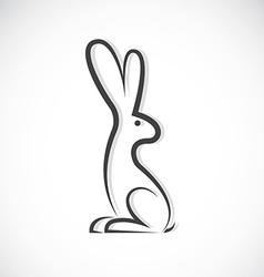 Image an rabbit design vector