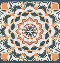 mandala decorative and pattern design vector image