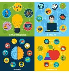 Science education set vector