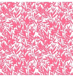 floral Bamboo seamless pattern vector image