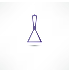 Spatula putty icon vector image vector image