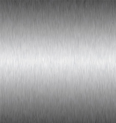 silver square metal background vector image vector image