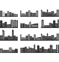 City landscapes vector image