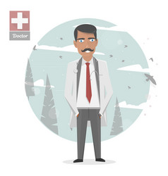 medical staff medicine vector image