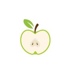 Apple design icon logo template vector