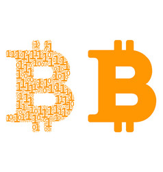 Bitcoin composition of binary digits vector