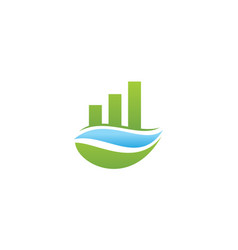 business growth solutions vector image