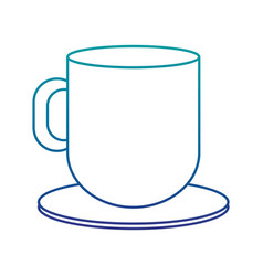 coffee cup hot icon vector image
