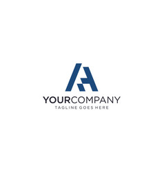 Creative and simple letter a for icon or company vector