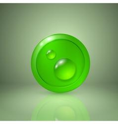 Drop of dew vector