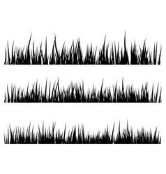 grass silhouette symbol icon design vector image
