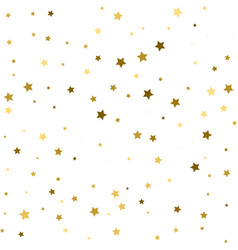 holiday background seamless pattern with stars vector image