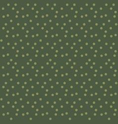 khaki green random dots background seamless vector image