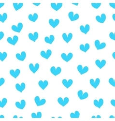 Light blue hearts on a white background vector