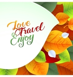 Love Yourself Flyer Brochure Design Template vector image
