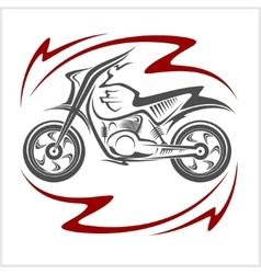 Motorcycle elements vector