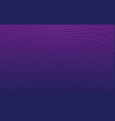 Retro comic deep blue and purple wavy halftone vector