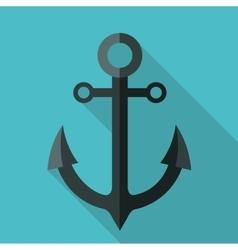 Anchor icon graphic vector image