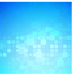 Blue and light turquoise glowing rounded tiles vector
