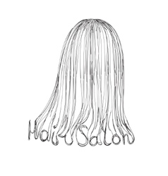 Hair Salon Poster vector image vector image