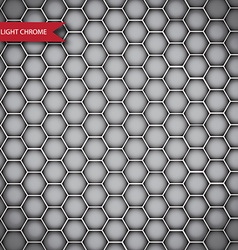 Abstract chrome metal texture isolated vector image