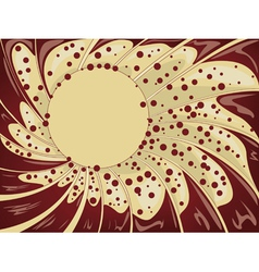 Abstract creamy background2 vector