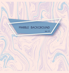 Abstract marble backgrounds in pastel pink vector
