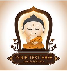Buddha Thailand Art vector image