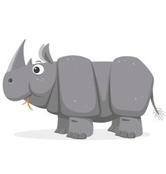 Cartoon Rhinoceros vector