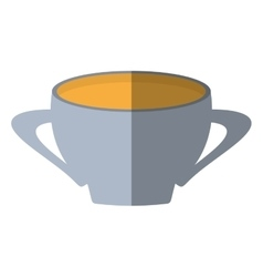 cup beverage isolated icon vector image