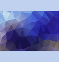 polygon background tropical blue vector image vector image