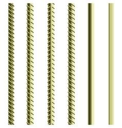 Rebars Reinforcement Steel vector