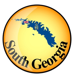 button South Georgia vector image vector image