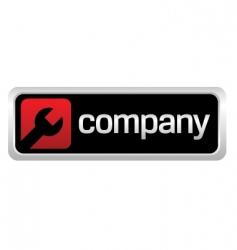 auto repair shop company logo vector image