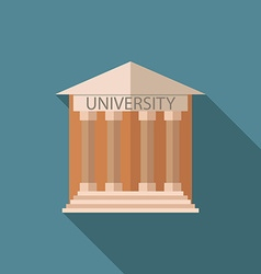 university icon v vector image vector image