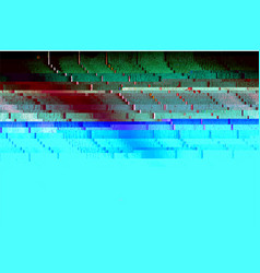 abstract glitched texture vector image