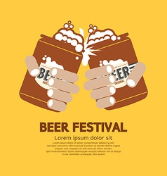 Beer festival graphic vector