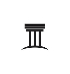 column icon template vector image