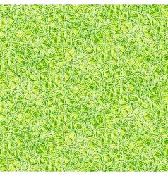 Simple elegant linear pattern in grass green vector