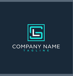 Sl ls initial logo luxury design inspiration vector