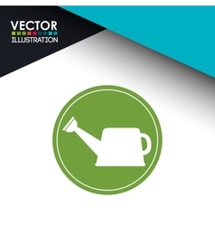 watering icon design vector image
