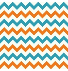 Seamless chevron pattern on grunge vector image