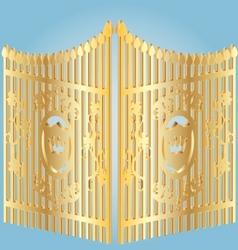 Golden gate vector