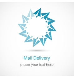 Mail Delivery vector image vector image