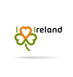 Saint Patrick day symbol vector image