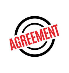 Agreement sticker stamp vector