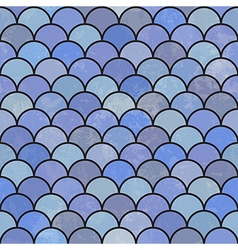 asian fish scales pattern seamless vector image