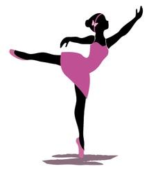 ballerina 2 vector image
