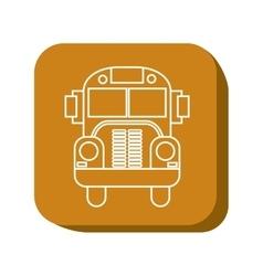 Bus icon design vector