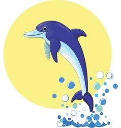 Delfin vector image